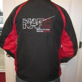 NAFC Jacket back